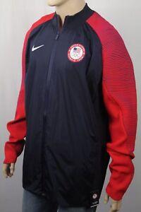 NikeLab USA Dynamic Reveal Olympic Full Zip Track Jacket 810562 NWT
