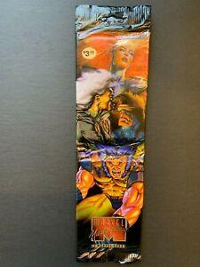 1995 Fleer Marvel Masterpieces Sealed Jumbo Rack Pack