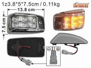 HINO 500 RANGER Side Lamp TRUCK 2003 LED White Pro BN (2PC/SET)