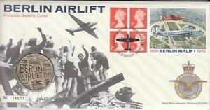 Timbre Numismatique Grande-Bretagne Berlin Airlift Pont Aérien 1999