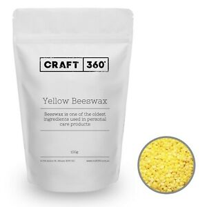 YELLOW BEESWAX PELLETS Natural Soap Cosmetic Lip Balm Pharmaceutical Grade
