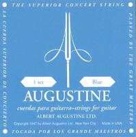 Jeux de Cordes BLUE SETS pour Guitare Classique Tension Forte AUGUSTINE