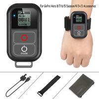 Black  for GoPro Hero 8 7 6 5 Waterproof Remoter SHOOT WiFi Remote Control Mount