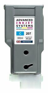 Compatible 300ml PFI-207 207 Ink Cartridge For Canon IPF680 IPF685 IPF780 IPF785