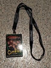 McBusted Most Excellent Adventure Tour VIP Lanyard OMFG Zone McFly Busted