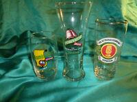 ~ 3 Biergläser Bierglas DDR Dominator spezial VEB Schwerin Trinkglas GS Vintage