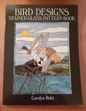 Bird Designs by Carolyn Relei - Stained Glass Pattern