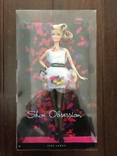 2011 Collector Barbie Doll Shoe Obsession Pink Label,Misb