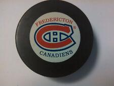 FREDERICTON CANADIENS AHL HOCKEY PUCK