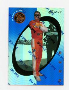 Ricky Rudd 1997 97 Pinnacle Certified Mirror Blue Parallel Insert Card 1:199 #10