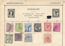 Colonias Inglesas. Conjunto de 68 sellos de diferentes Colonias Inglesas