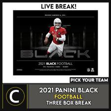 2021 PANINI BLACK футбол 3 коробки перерыв #F781 — выбирайте свою команду