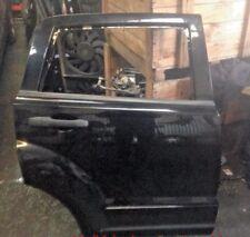 DODGE CALIBER  O/S RIGHT DRIVERSIDE REAR DOOR IN BLACK