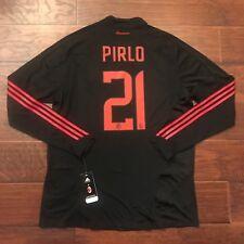 2008/09 AC Milan Third Jersey #21 Pirlo 2XL L/S Player Issue Camiseta Maglia New