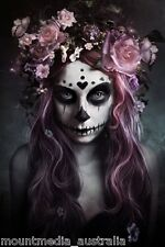 DOD SUGAR LACE SKULL ALEXANDRA V. BACH POSTER (61x91cm)  PICTURE PRINT NEW ART