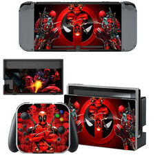 Normal Nintendo Switch Consola Joy-Con Piel Deadpool DP héroe de vinilo autoadhesivo con