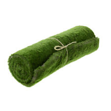 Artificial Green Moss Matt - 30 x 100cm - Fake Christmas Moss Decoration