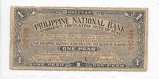 Philippines Emergency Currency Cebu Currency Com 1 Peso CS San Isioro - # 697840