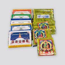 Tibetische Gebetsfahnen Guru Rinpoche Padmasambhava rot Länge 220cm aus Nepal