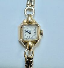 Vintage BULOVA Ladies 10K Gold Filled Watch Runs