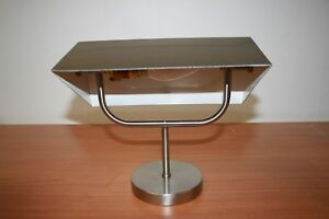 Silver Coloured Picture Light.Modern Triangular Stainless Steel.Wall Mounted.
