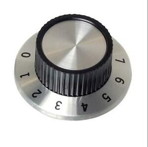 2 x SCI RN-114A Calibrated 1 - 10 Control Knob 37mm Test Equipment