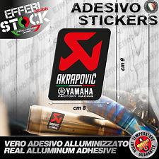 Adesivo / Sticker AKRAPOVIC YAMAHA R1 R6 FZ1 FZ6 MT TMAX FACTORY RACING CUP