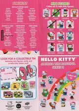 Hello Kitty America Beautiful Series 2 - Awesome collection of 11 Figures/Cards!