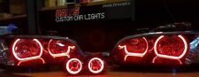 Ve Commodore headlights s1 SV6 with multicoloured halo rings and fog lights