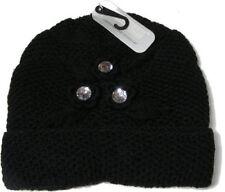 Bonnets noir taille unique pour femme