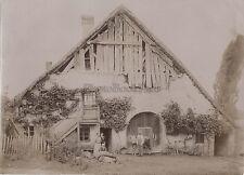 Chalet de la Croix Dents du Midi Canton du ValaisSuisse Vintage citrate c 1900