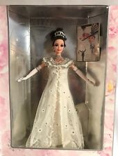 BARBIE DOLL ELIZA DOOLITTLE MY FAIR LADY 1995 Collector Edition WHITE GOWN