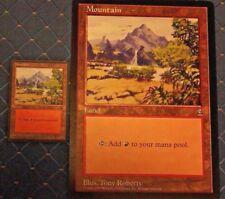 MTG ARENA 1996 PROMO 2 CT MOUNTAIN CIRCLE M 6x9  JUMBO CARD FROM PACK FREE SHIP