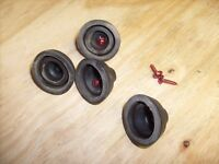 MCS 6205 Turntable Parts - Rubber Feet (Set of 4)