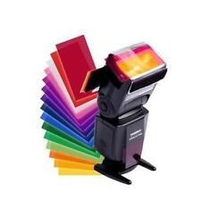 Nuevo 12 Colores/Conjunto De Filtro De Efecto de saldo Difusor de Flash herramienta para Speedlite Canon Z