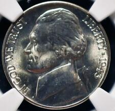 1943-D MS66 NGC JEFFERSON NICKEL  ID#HH56
