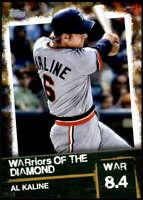 Al Kaline 2020 Topps WARriors of the Diamond 5x7 Gold #WOD-49 /10 Tigers