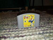 Earthworm Jim 3D Nintendo N64 Cartridge PAL