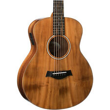 Taylor GS Mini-e Koa 6-string Acoustic-electric Travel Guitar with Solid Koa Top