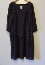 Catherines Enchanted Evening Plus Size Dress-  Size 24W - Purple- NWOT