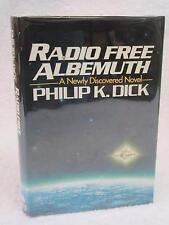 Philip K. Dick RADIO FREE ALBEMUTH Arbor House 1985 HC/DJ Book Club Edition