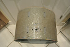 "1960's Rogers 22"" HOLIDAY SILVER SPARKLE BASS DRUM SHELL for YOUR DRUM SET! E192"