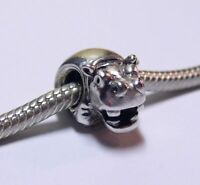 PANDORA Charm Sterling Silver ALE S925 HIPPO 790334 RETIRED