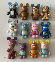 "Disney Vinylmation Lot Of 12 - Monsters University Mrs. Squibbles Bolt 3"" Loose"