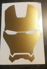 Gold Vinyl Decal IronMan, Iron Man