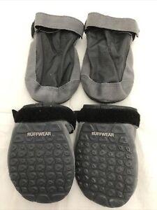 Ruffwear Summit Trex Dog Boots Size 3.25 inch Twilight Gray Set of 4 Boots