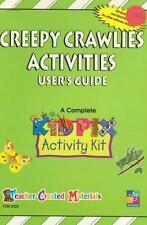 Kid Pix: Creepy Crawlies PC MAC CD observe nature food spatial symmetry kit game