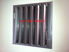 Baffle or Mesh Type Grease Filters Bespoke made to measure for Kitchen Canopies
