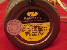 PANASONIC 6RA6GB4L ELECTRIC MOTOR  **NNB**