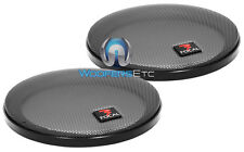 "(2) FOCAL 5.25"" SPEAKER COAXIAL COMPONENT PROTECTIVE GRILLS COVERS ONLY NEW PAIR"